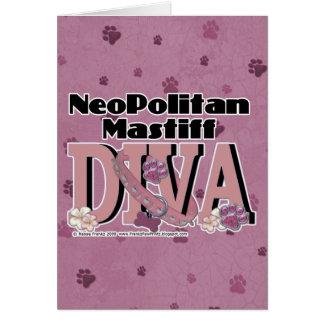 Neopolitan Mastiff DIVA Card