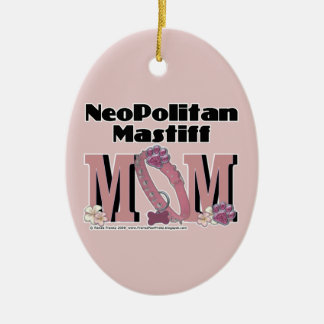 Neopolitan Mastiff MOM Christmas Tree Ornaments