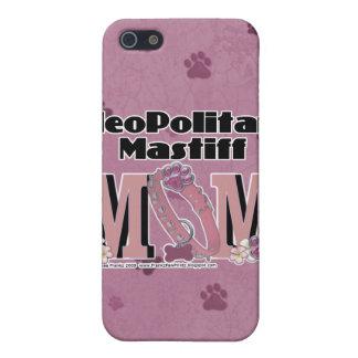 Neopolitan Mastiff MOM iPhone 5 Case