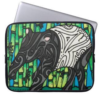 "Neoprene 15""  Laptop Sleeve"" Tiny Tapir Series Laptop Sleeve"