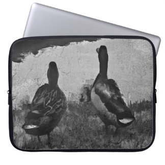 Neoprene Laptop Sleeve 15 inch - Ducks