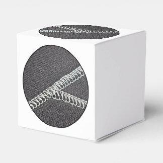 Neoprene seam wedding favour boxes