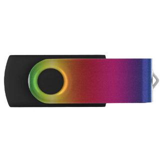 NeoRainbow USB Swivel Flash Drive