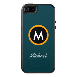 Neoteric Monogram Name template OtterBox iPhone 5/5s/SE Case