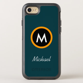 Neoteric Monogram Name template OtterBox Symmetry iPhone 8/7 Case