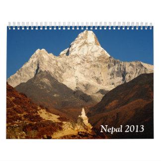 Nepal 2013 calendar