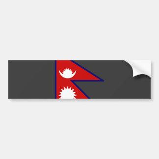 Nepal Flag Bumper Sticker