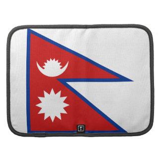 Nepal Flag Folio Organizer