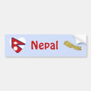 Nepal Flag Map Gifts & Gift Ideas | Zazzle UK