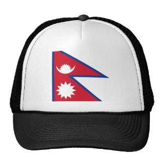 Nepal FLAG International Hat