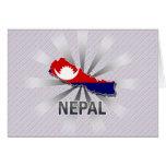 Nepal Flag Map 2.0