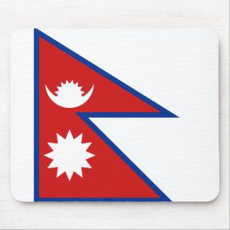 Nepal Flag Mousepad