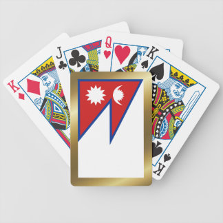 Nepal Flag Playing Cards