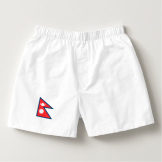 Nepal Flag Boxers