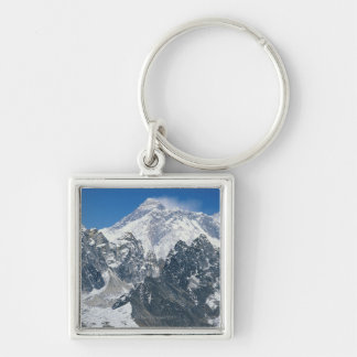 Nepal, Himalayas, view of Mt Everest from Gokyo Key Ring