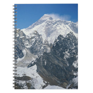 Nepal, Himalayas, view of Mt Everest from Gokyo Notebook