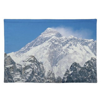 Nepal, Himalayas, view of Mt Everest from Gokyo Placemat