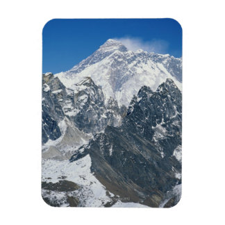 Nepal, Himalayas, view of Mt Everest from Gokyo Rectangular Photo Magnet