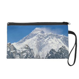 Nepal, Himalayas, view of Mt Everest from Gokyo Wristlet