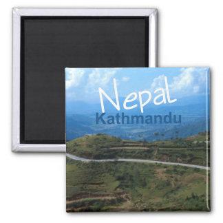 Nepal Kathmandu Travel Souvenir Fridge Magnet