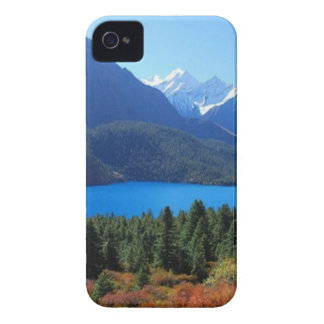 Nepal Mount Everest Glaciers Lakes Scenic View Case-Mate iPhone 4 Cases