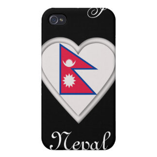 Nepal Nepalese flag iPhone 4/4S Case