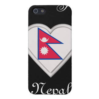 Nepal Nepalese flag iPhone 5 Case