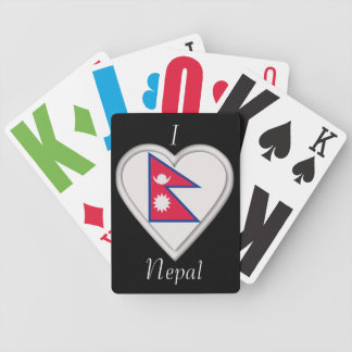 Nepal Nepalese flag Playing Cards