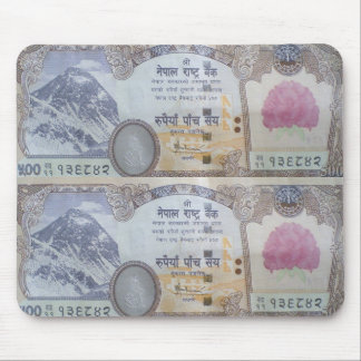 Nepalese Banknote Mouse Pad