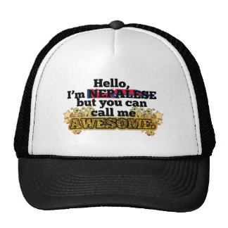 Nepalese, but call me Awesome Hats