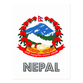 Nepalese Emblem Postcard