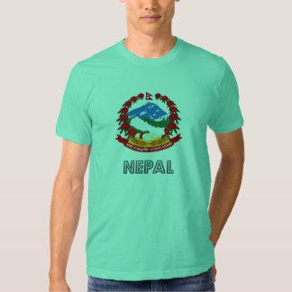 Nepalese Emblem Tee Shirts