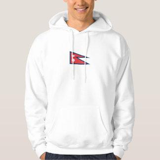 Nepalese Flag Hoodie