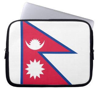 Nepalese Flag Laptop Sleeve