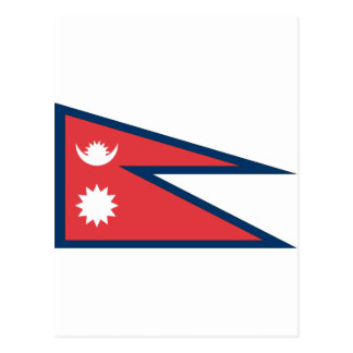 Nepalese Flag Postcard