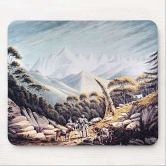 Nepalese Herdsmen in the Himalayas, 1826 Mouse Mat