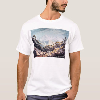 Nepalese Herdsmen in the Himalayas, 1826 T-Shirt