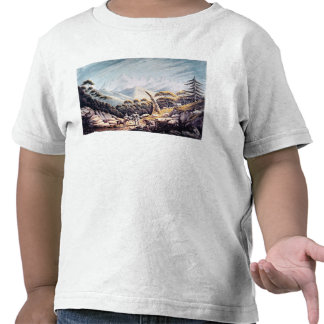 Nepalese Herdsmen in the Himalayas, 1826 Tshirts