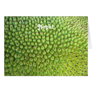 Nepalese Jackfruit Card