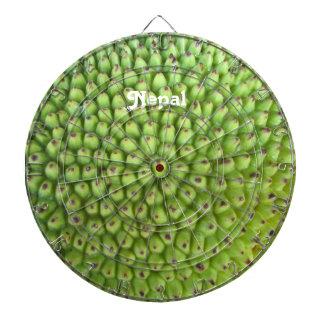 Nepalese Jackfruit Dartboard