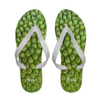 Nepalese Jackfruit Flip-Flops