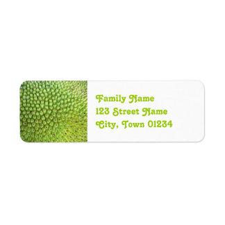 Nepalese Jackfruit Return Address Label