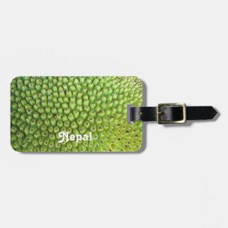 Nepalese Jackfruit Travel Bag Tag