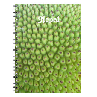 Nepalese Jackfruit Spiral Notebooks