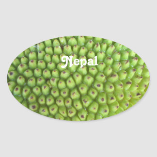 Nepalese Jackfruit Sticker