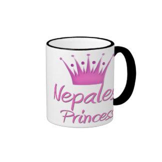 Nepalese Princess Coffee Mugs