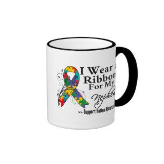 Nephew - Autism Ribbon Ringer Mug