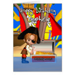 Nephew Birthday Card Pirate Treasure