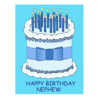 Nephew Happy Birthday Postcard