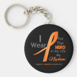 Nephew - Hero in My Life - Leukaemia Key Chain
